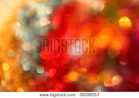 Christmas Lights And Bokeh (many Colors)