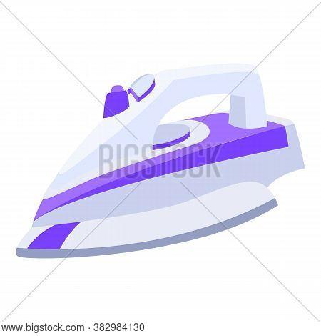 Appliance Flatiron Icon. Cartoon Of Appliance Flatiron Vector Icon For Web Design Isolated On White