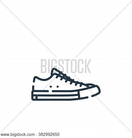 shoes icon isolated on white background from rock and roll collection. shoes icon trendy and modern