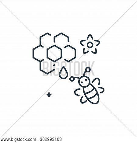 honeycomb icon isolated on white background from mother earth day collection. honeycomb icon trendy