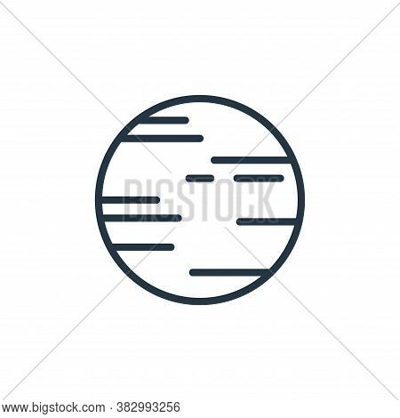 venus icon isolated on white background from universe collection. venus icon trendy and modern venus
