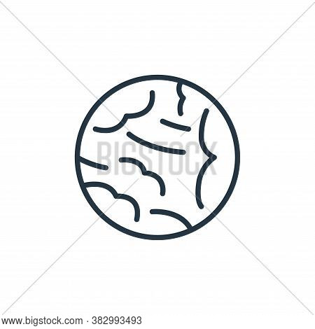 neptune icon isolated on white background from space collection. neptune icon trendy and modern nept