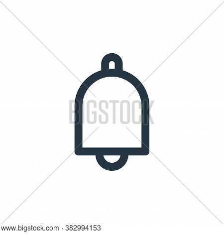 alarm icon isolated on white background from user interface collection. alarm icon trendy and modern