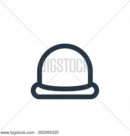 hat icon isolated on white background from style accessories collection. hat icon trendy and modern