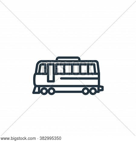 tram icon isolated on white background from vehicles collection. tram icon trendy and modern tram sy