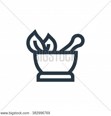 herbal icon isolated on white background from morocco collection. herbal icon trendy and modern herb