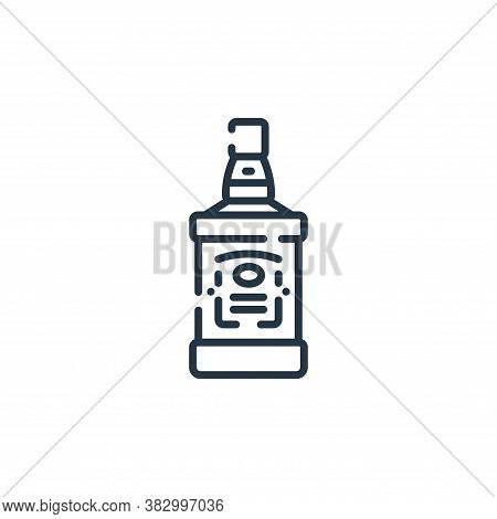 liquor icon isolated on white background from rock and roll collection. liquor icon trendy and moder