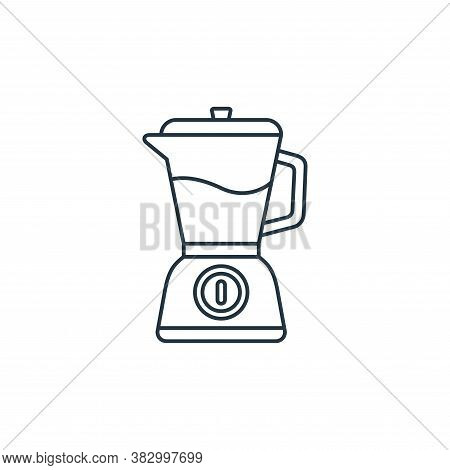 mixer blender icon isolated on white background from coffee shop collection. mixer blender icon tren