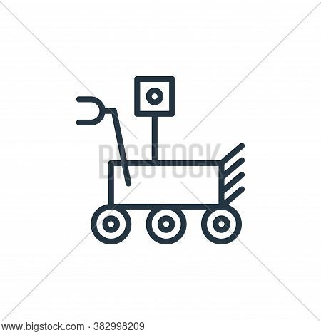 robot icon isolated on white background from universe collection. robot icon trendy and modern robot