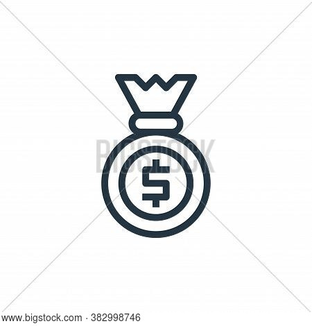 banking icon isolated on white background from business and money collection. banking icon trendy an