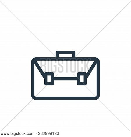 briefcase icon isolated on white background from school collection. briefcase icon trendy and modern