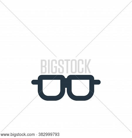 spectacles icon isolated on white background from style accessories collection. spectacles icon tren