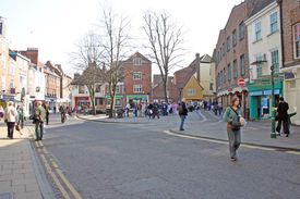 Tourists In York