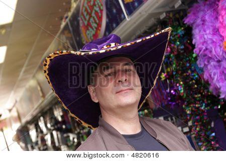 Man In Fun Hat