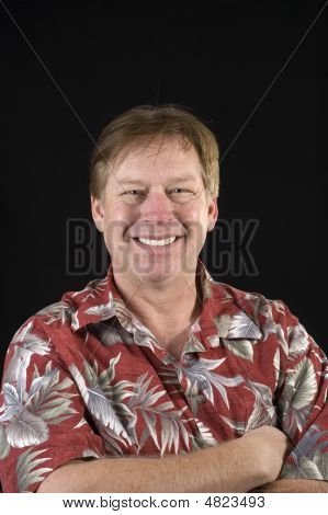 Happy Smiling Casual Businessman