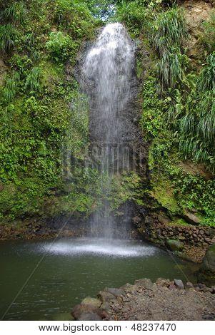 Soufriere Water Falls