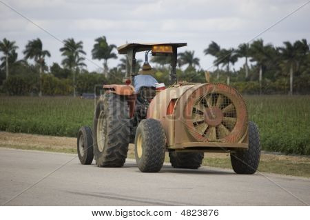 Blower Tractor