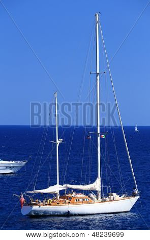 Sailing on the Mediteranean Sea, Europe