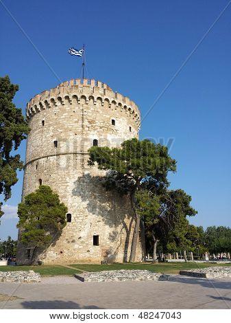 White tower in Salonika - Greece