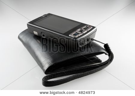 Purse And Mobile Phone