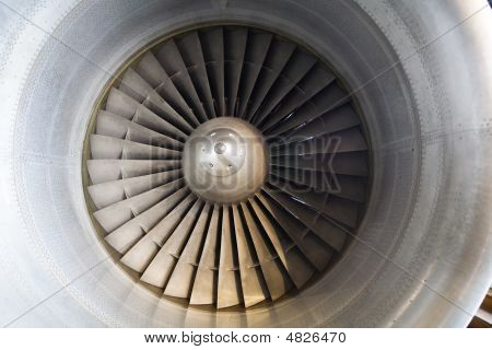 Fragment Of Impulse Turbine