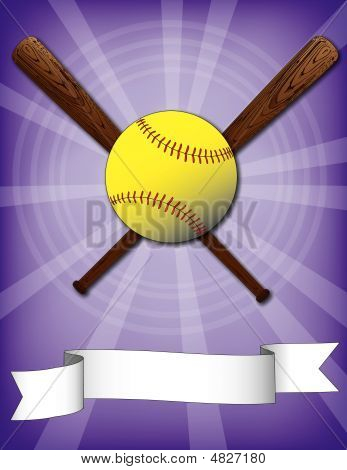 Softball Burst