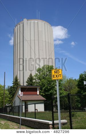 No Exit Water Tower