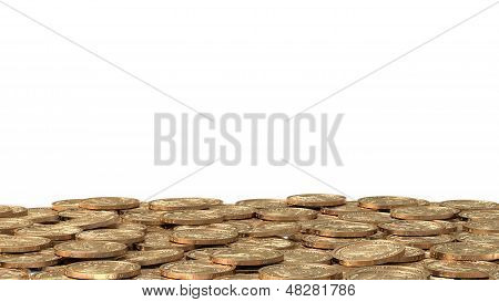 Layer Of Golden Coins