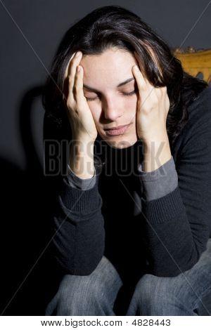 Having Headache