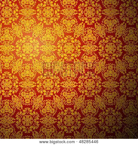 Chinese pattern background. Seamless wallpaper
