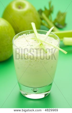 Fresh Fruit Milk Shake Apple