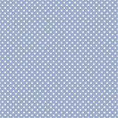 Seamless vector pattern with white polka dots on a sweet pastel baby boy blue background. For web design, desktop wallpaper, card, invitation, wedding, baby shower, album, background, art, decoration or scrapbook poster