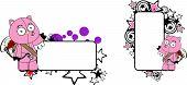 animal cherub cartoon copyspace in vector format very easy to edit poster