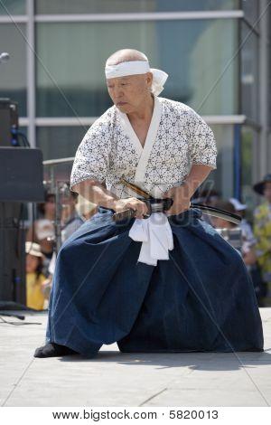 Nisei Week Swordsman