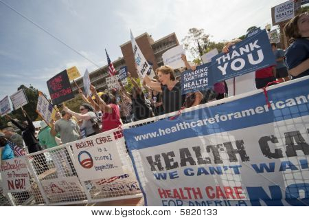Health Reform Demonstration At Ucla 13