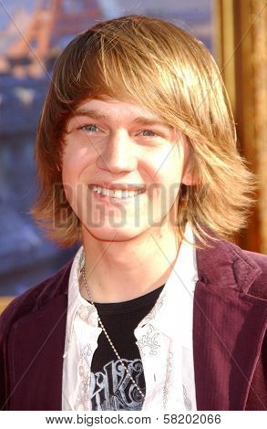 Jason Dolley at the world premiere of