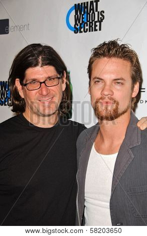 Rodger Grossman and Shane West at the Premiere and Party for
