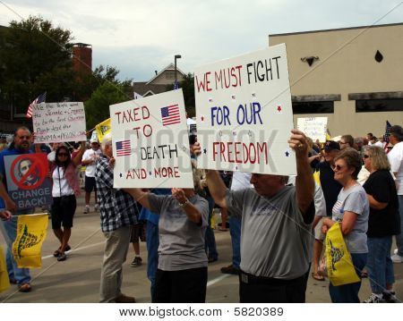 Tea Party Express Protest