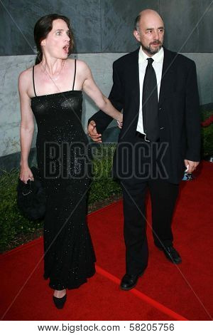 Sheila Kelley and Richard Schiff at the Los Angeles Film Festival 2007 Spirit Of Independence Awards. Billy Wilder Theatre, Westwood, CA. 06-28-07