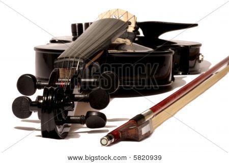 Electric 5-string Black Violin