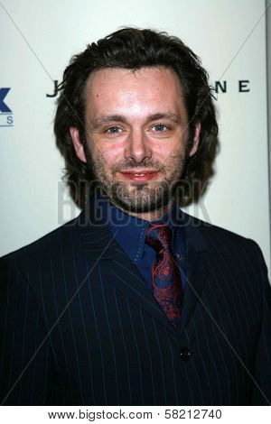 Michael Sheen at the celebration for the Oscar nominated films