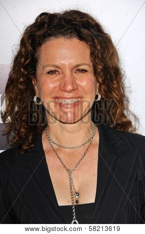 Susie Essman at the opening night of the musical