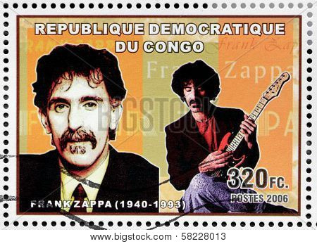 Frank Zappa Stamp