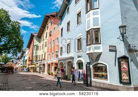 In The Street Of Kitzbuhel