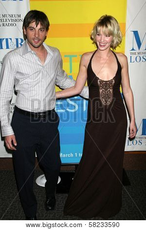 Skeet Ulrich and Ashley Scott at the 24th Annual William S. Paley Television Festival Featuring