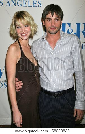 Ashley Scott and Skeet Ulrich at the 24th Annual William S. Paley Television Festival Featuring