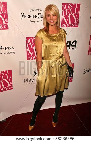 Kaley Cuoco at the 2B Free Fall 2007 Collection Fashion Show. Boulevard 3, Hollywood, CA. 03-19-07