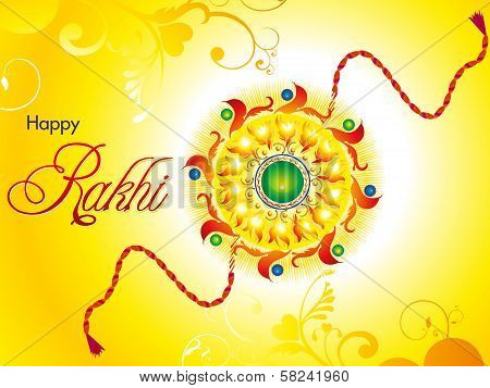 Abstract Artistic Raksha Bandhan Wallpaper