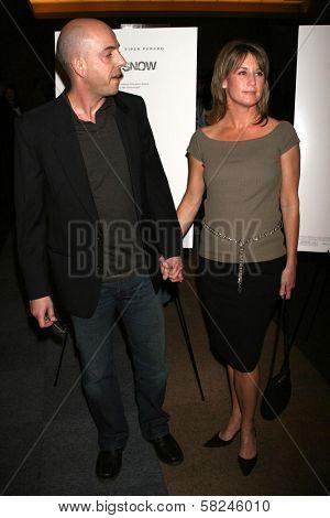 Bob Yari and Amanda Harvey at the Los Angeles premiere of