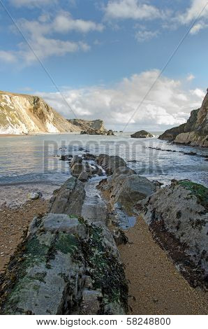 Man o War Bay near Durdle Door, UK